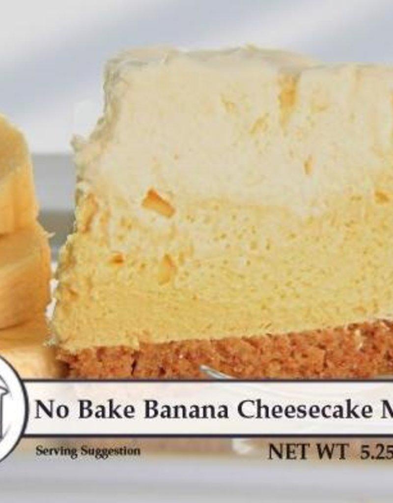 No Bake Banana Cheesecake Mix