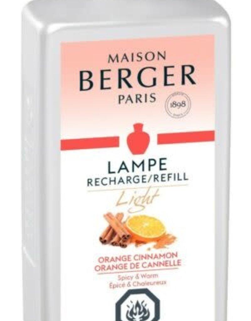 Light Orange Cinnamon