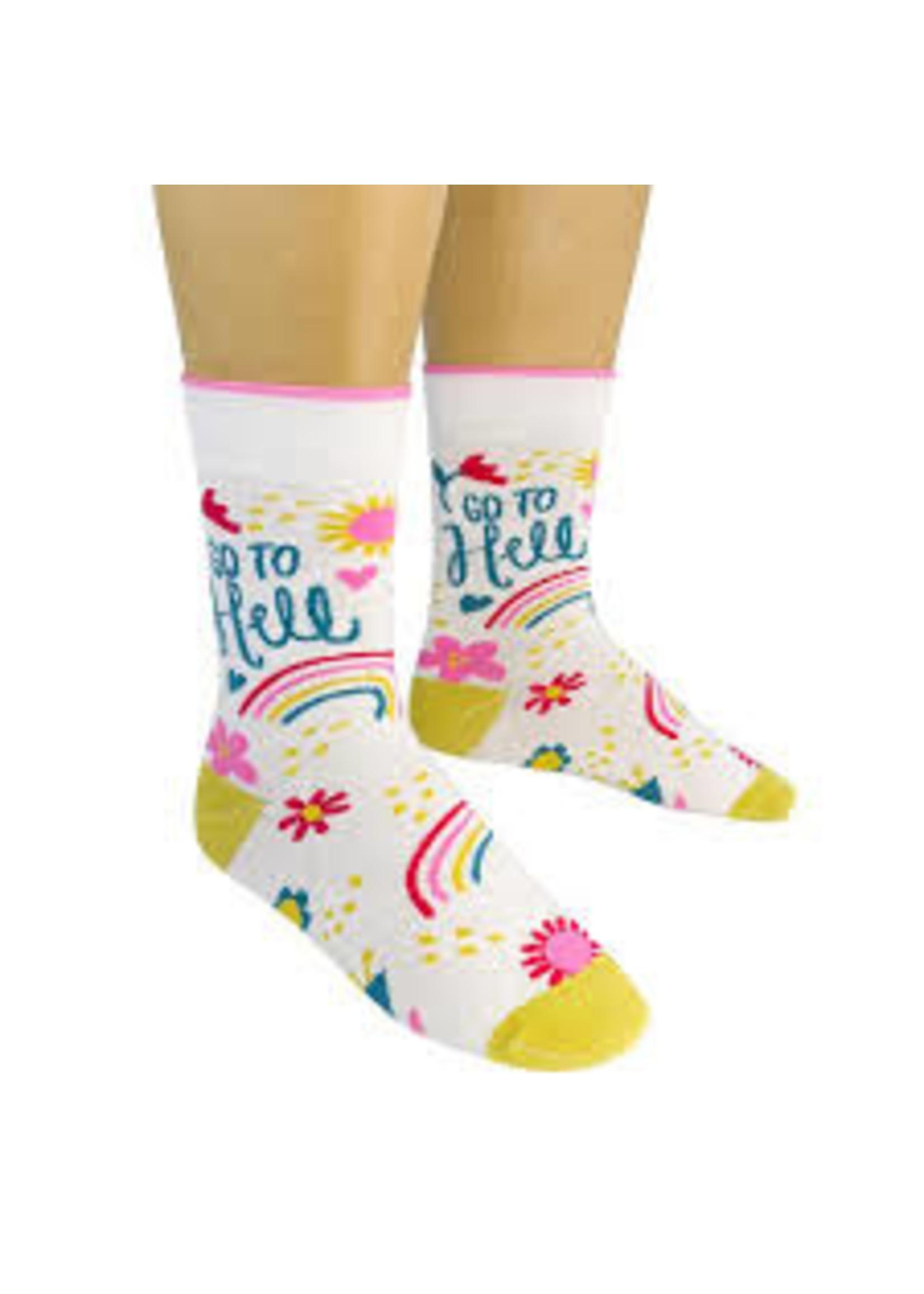 Funatic Go To Hell Socks