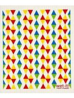 Primary Triangle  Swedish Dishcloth