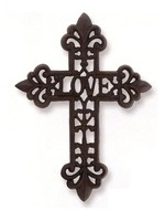 Sophisticated Style Love Iron Cross