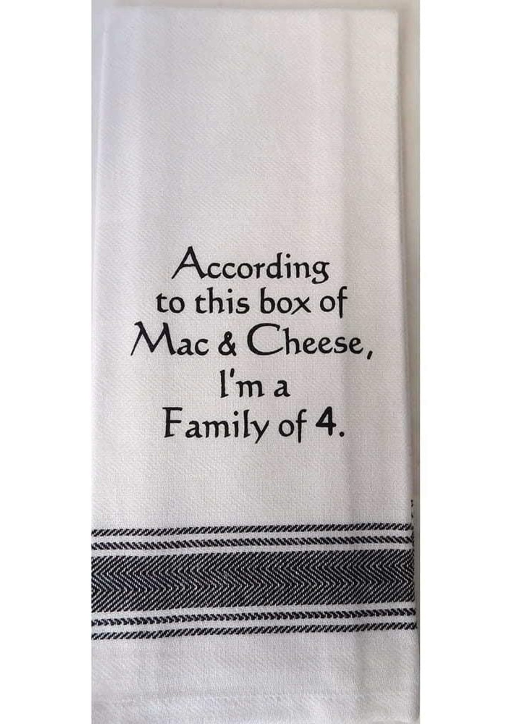 Wild Hare Designs Family of 4 Towel