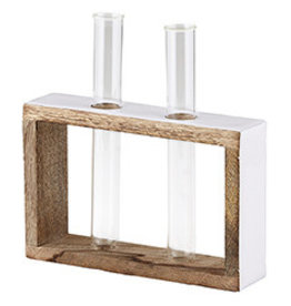 47th & Main Double Test Tube Flower Holder