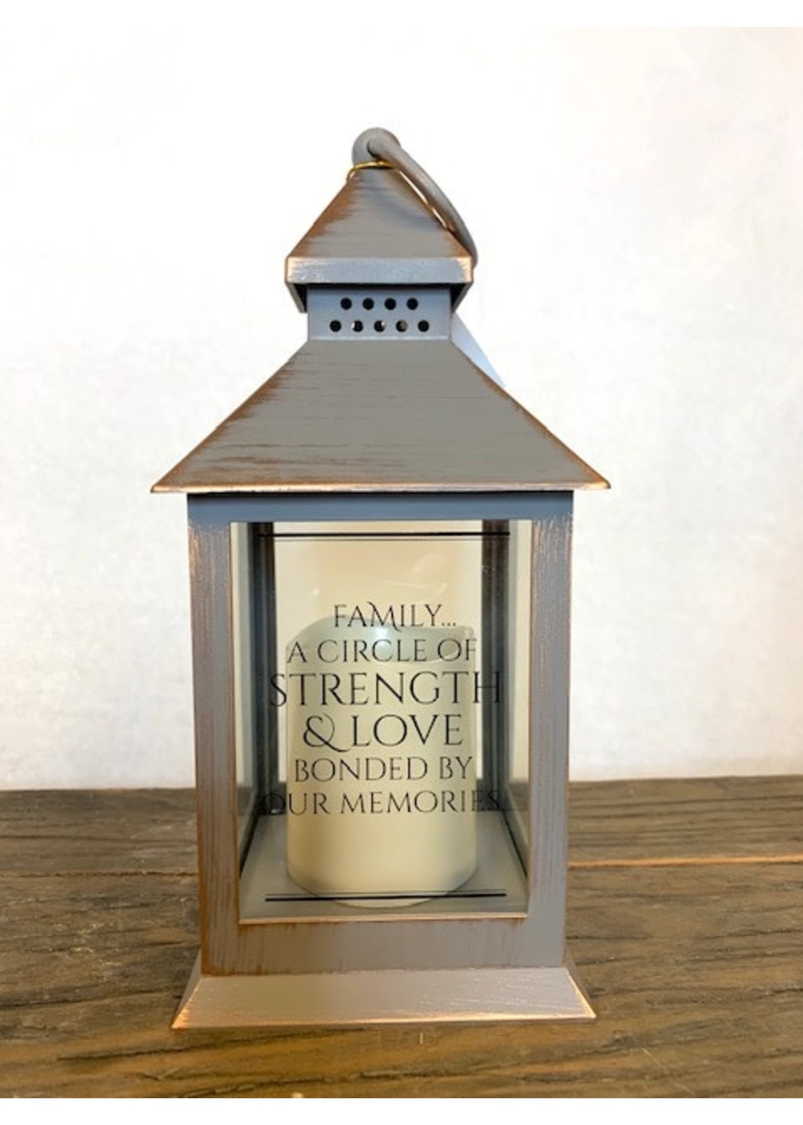 Carson Home Accents Family/Home Lantern