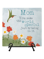 """Carson Home Accents """"Mom"""" Easel Plaque"""