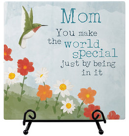 """Mom"" Easel Plaque"