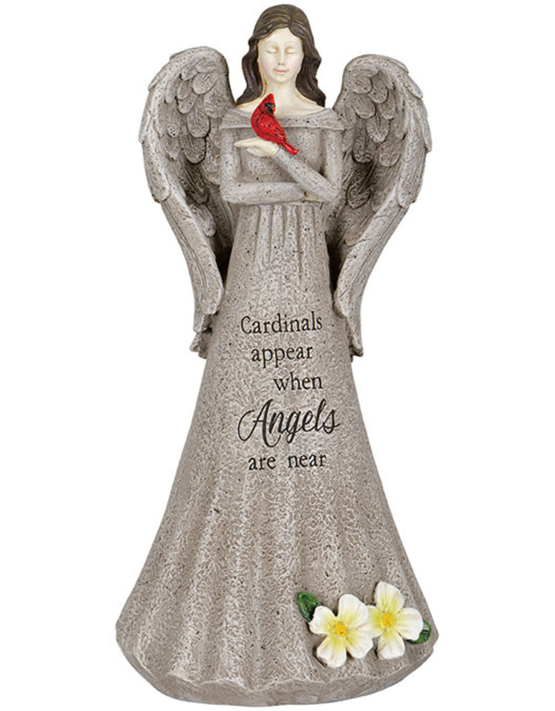 """Angels Are Near: Cardinal Memorial Statue"