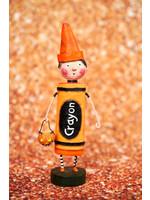 Lori Mitchell Orange Crayon