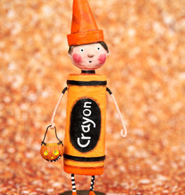 Lori Mitchell Orange Crayon