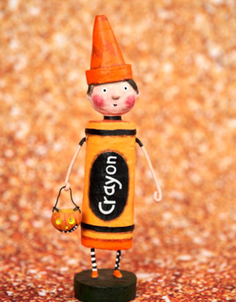 Orange Crayon