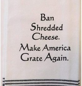 Wild Hare Designs Ban Shredded Cheese Towel