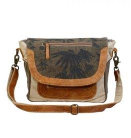 Myra Bags CLASSIC FLAP OVER MESSENGER BAG S-1228