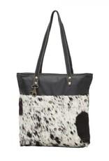 Black Shades Hair on Tote Bag
