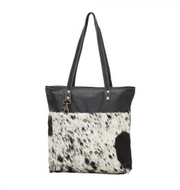 Black Shades Hair on Tote Bag