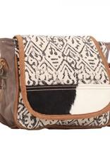 Myra Bags MONOCHROME MESSENGER BAG S-1526