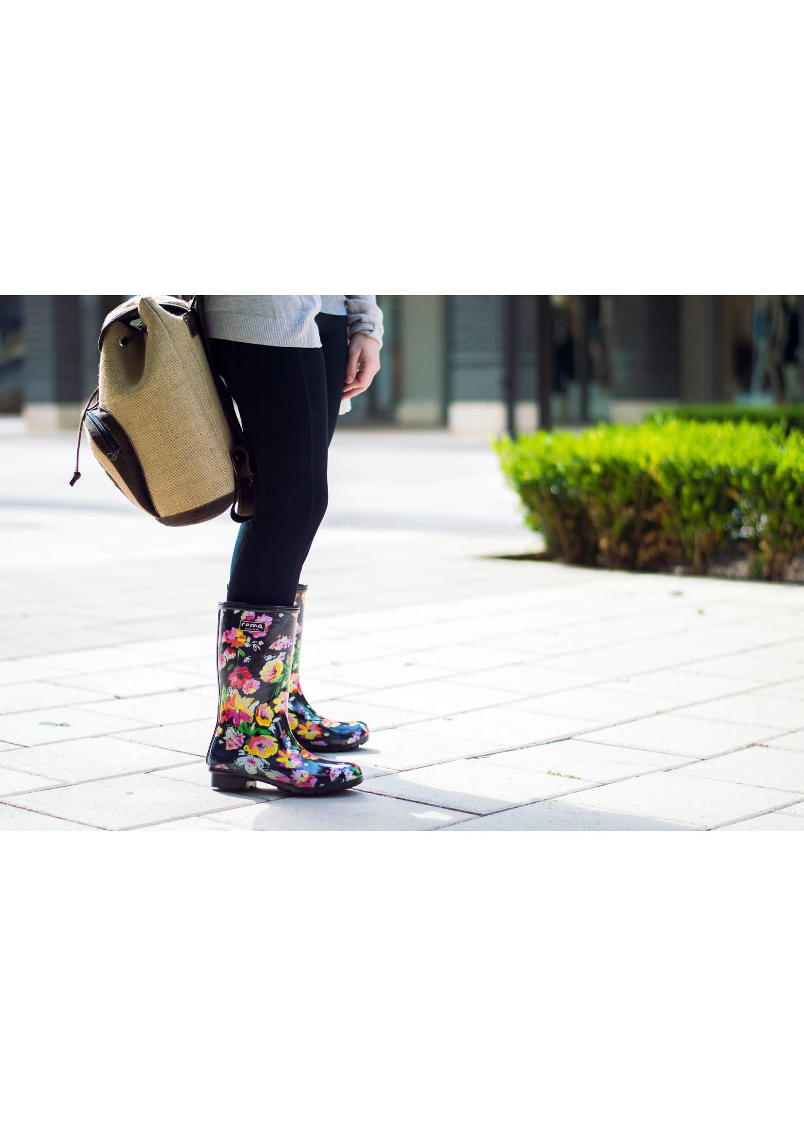 Roma Boots Rain Boots Emma Mid Calf