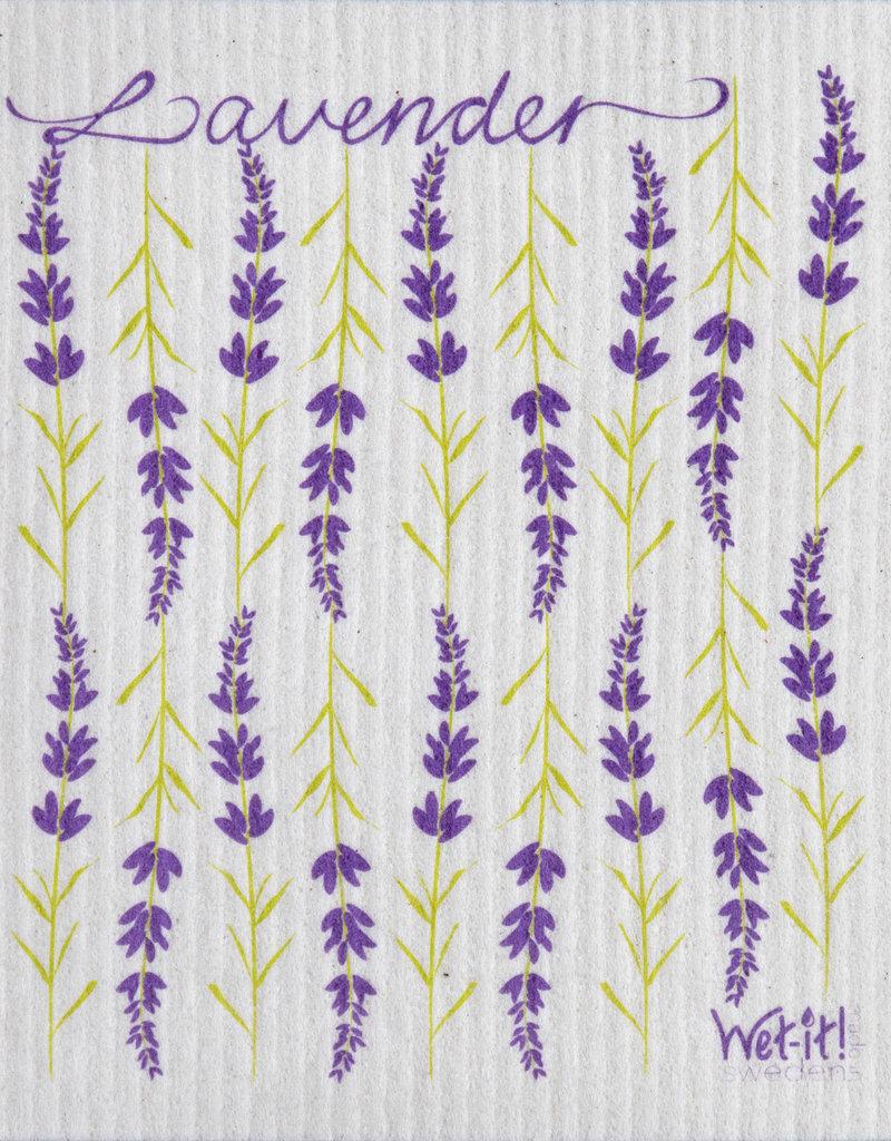 Wet-It Floral Swedish Dishcloth