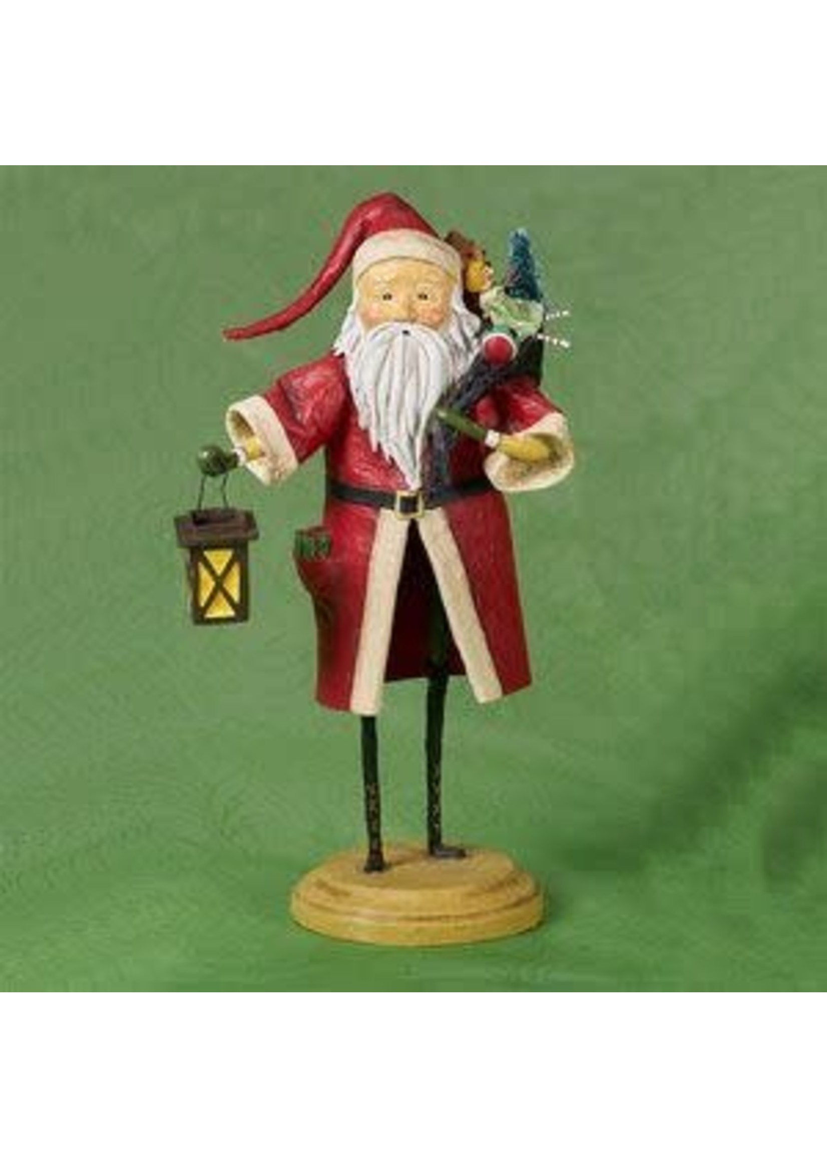 Lori Mitchell Old Father Christmas, Red