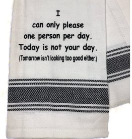 Wild Hare Designs I Can Only Please One Person Towel
