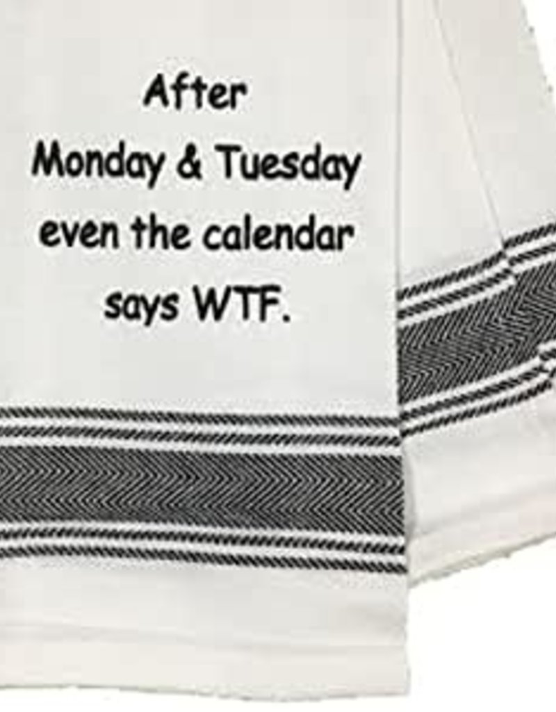 After Monday & Tuesday Towel