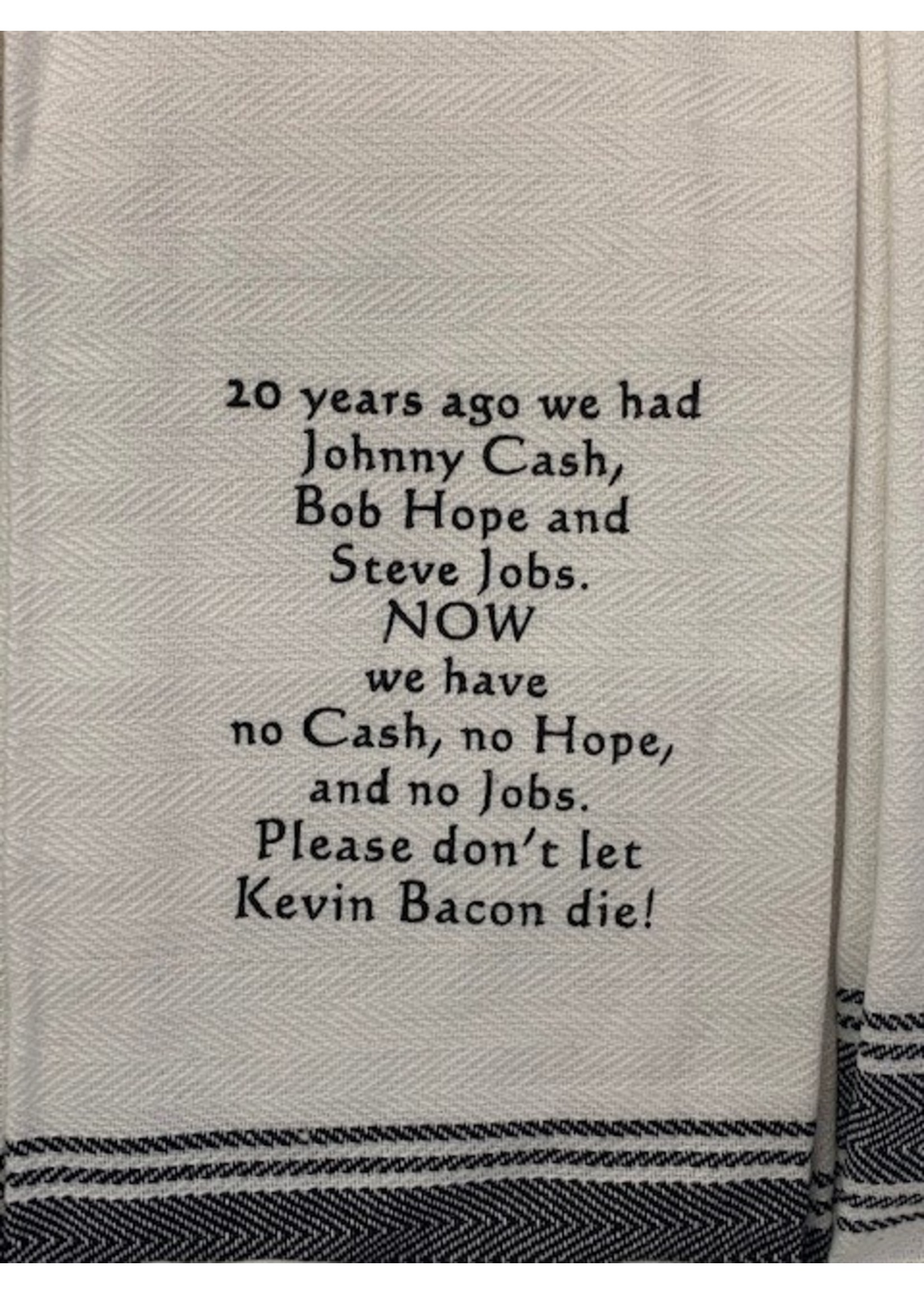 Wild Hare Designs 20 Years Ago We Had... Towel