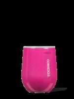 Corkcicle 12 oz Stemless Unicorn Sparkle Pink Dazzle