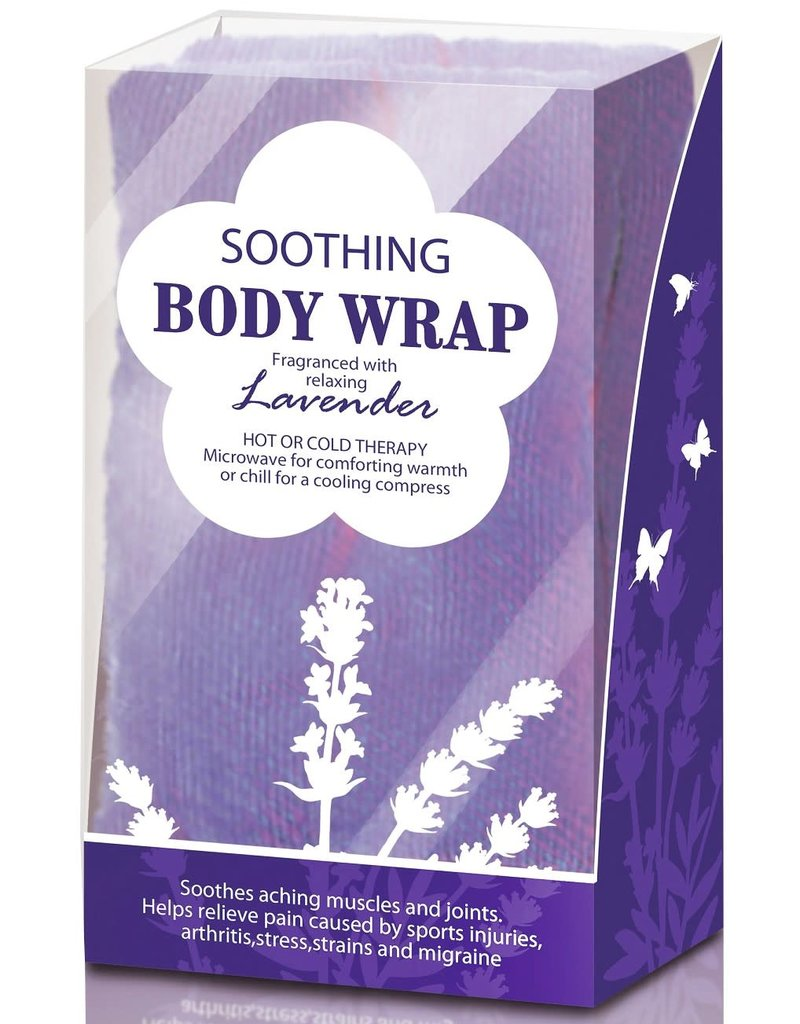 Lavender Scented Body Wrap