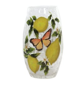 Fresh Lemons Pre-Lit Medium Vase, Asst