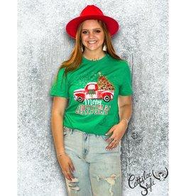 Cattilac Christmas Truck Tee