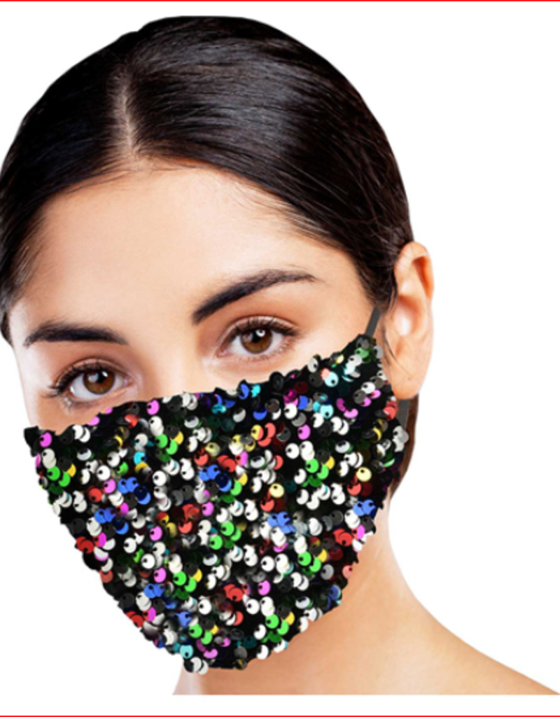 Snoozie's Bling Fashion Face Covering