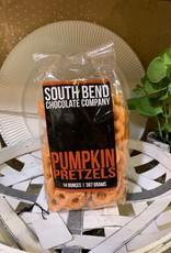 South Bend Chocolate Company Pumpkin Pretzels