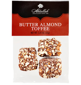 Abdallah Butter Almond Toffee 1.25oz