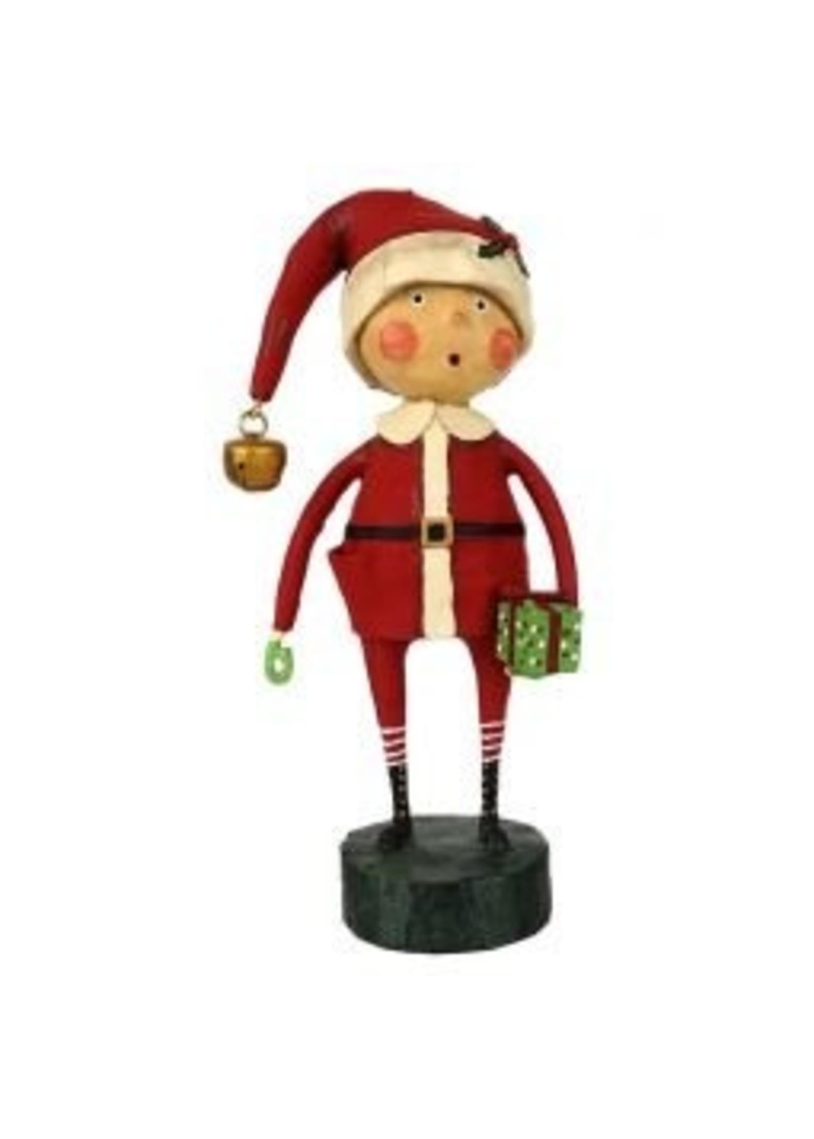 Lori Mitchell Playing Santa