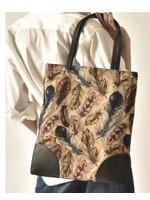 cott n curls Feathers Club Book Bag
