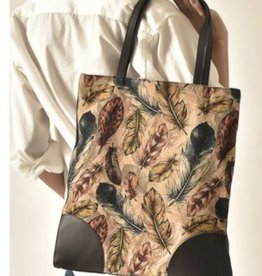 cott n curls Feathers Club Book Bag