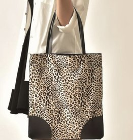 cott n curls Leopard Book Bag