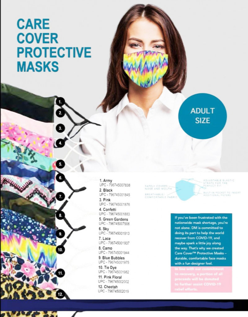 Care Cover Face Mask