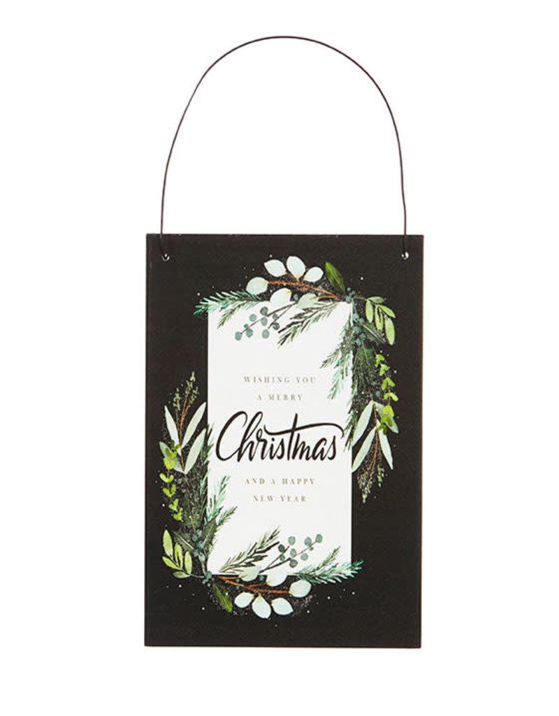 Raz Imports Holiday Greetings Ornament