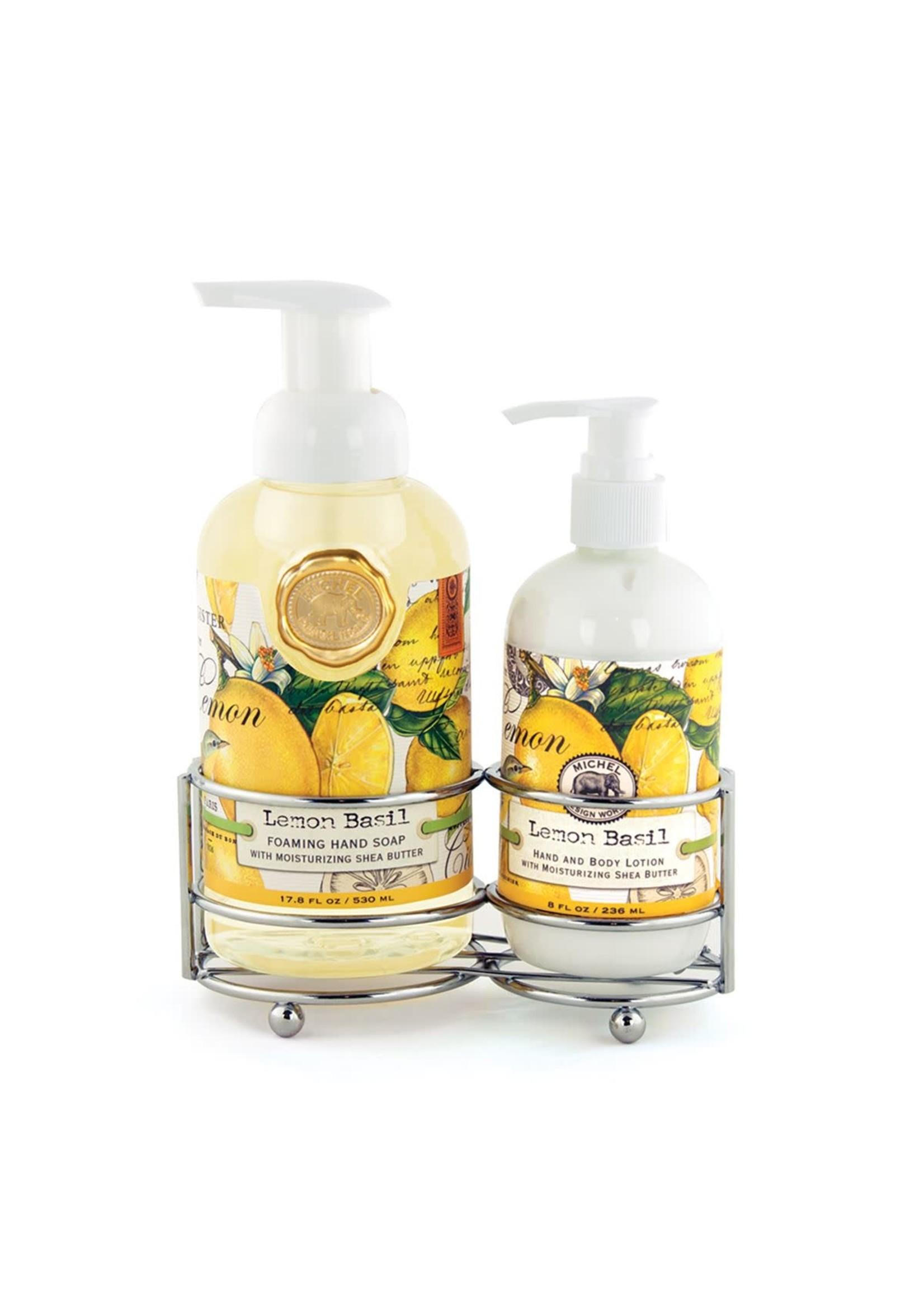 Michel Design Works Lemon Basil Handcare Caddy