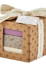 San Francisco Soap Company Holiday Set of 3 Handcraft Soap Bars (Cran, Blueberry, Pepbark)