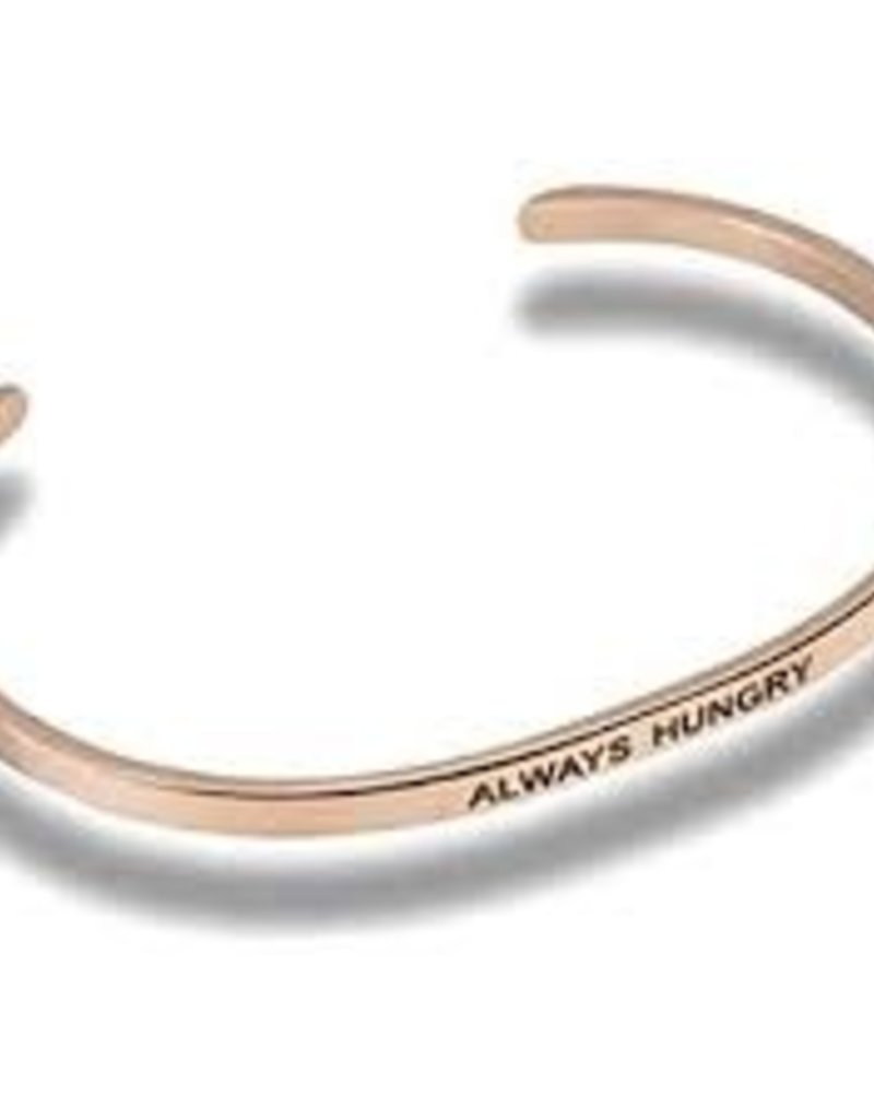 Always Hungry Embracelet Rose Gold