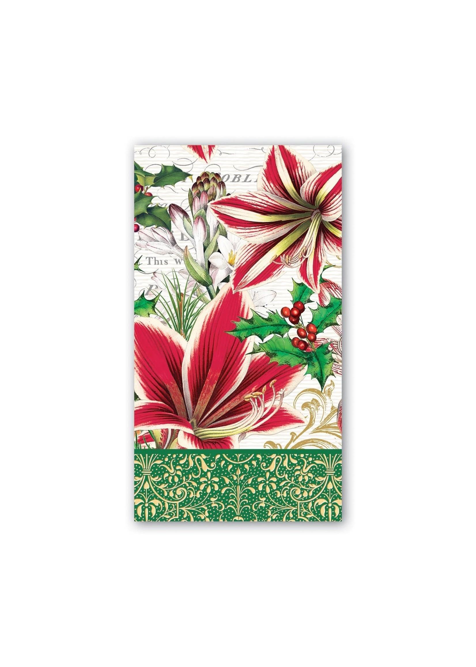 Michel Design Works Merry Christmas Hostess Napkins