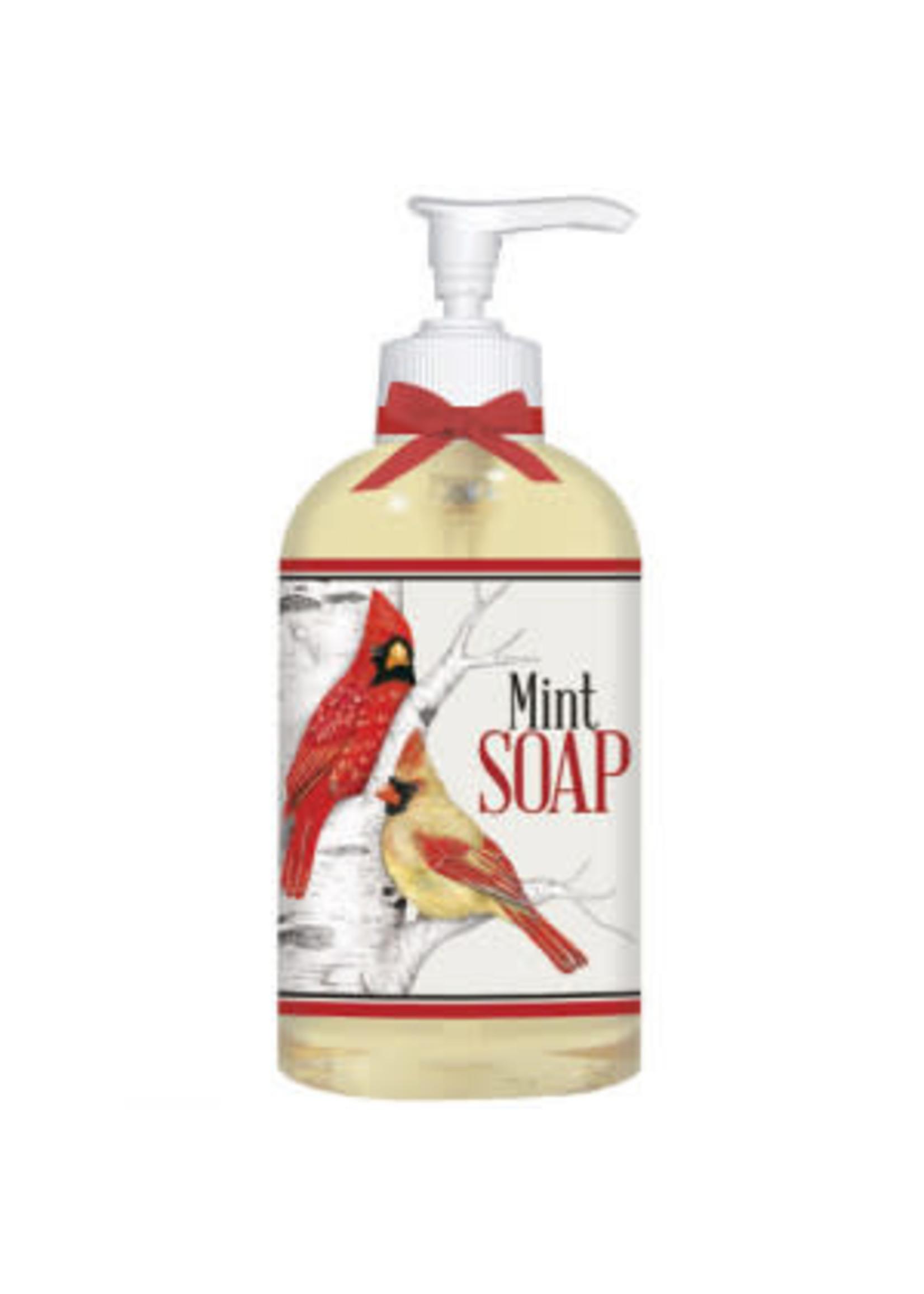 Mary Lake Thompson Birch Tree Birds Liquid Soap - Mint