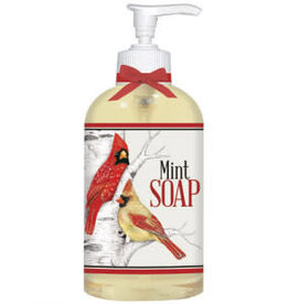 Mary Lake Thompson Birch Tree Birds Liquid Soap - Mint