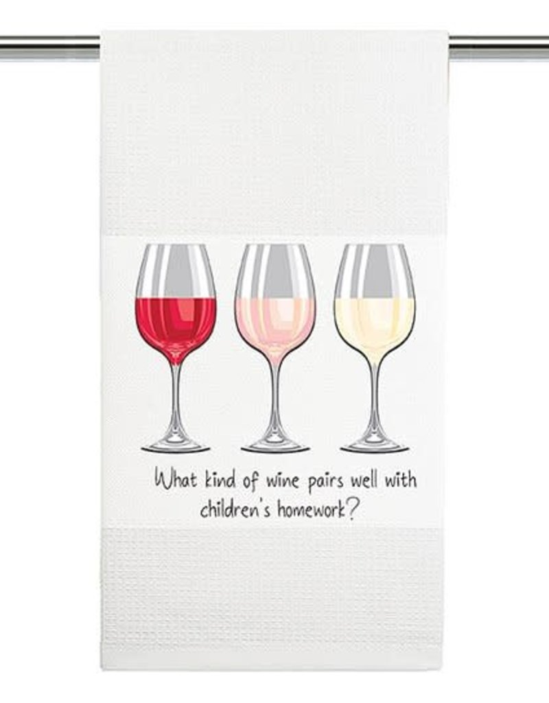 What Kind of Wine Pairs Well With Children Towel