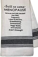 Wild Hare Designs Still To Come-Menopause Towel