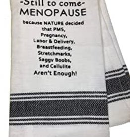 Wild Hare Designs Still To Come-Menopause Towel