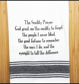 Wild Hare Designs The Senility Prayer Towel