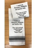 Wild Hare Designs I Sent An Ancestry Website Our Family Info Towel
