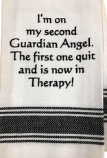 I M On My Second Guardian Angel Towel All Seasons Floral Gifts